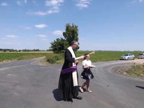 Otawrcie drogi w Góreczkach Wielkich - 11 czerwca 2015r.