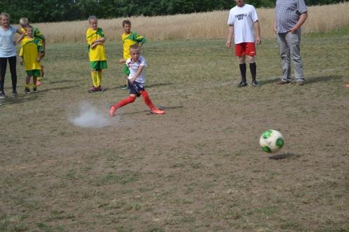 Otwarcie boiska piłkarskiego w Sworowie - 12 lipca 2015r.