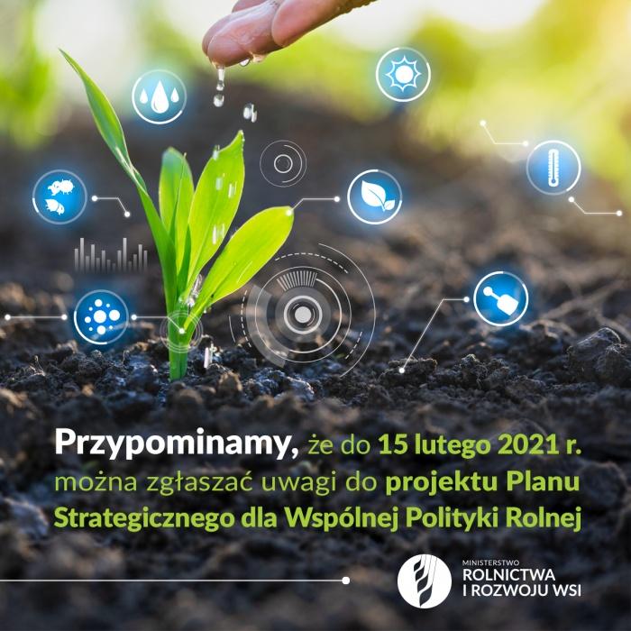 Projekt Planu Strategicznego dla Wspólnej Polityki Rolnej