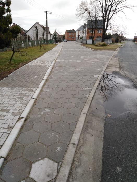 Przebudowa drogi w Pomocnie