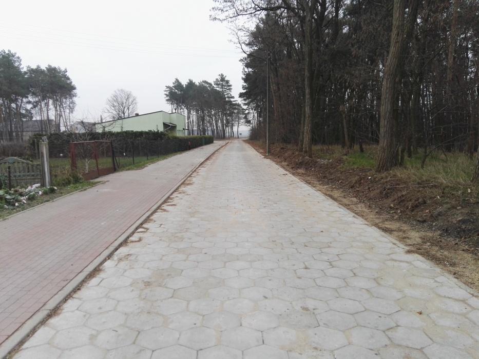 Przebudowa drogi dojazdowej do gruntów rolnych w miejscowści Sworowo