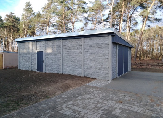 Budowa budynku magazynowego w Sworowie