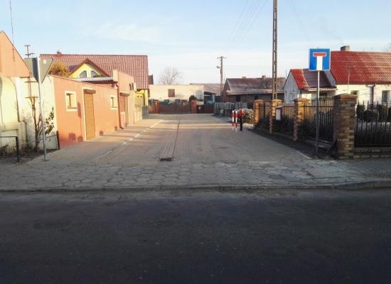 Przebudowa drogi gminnej nr 822031P w Chojnie