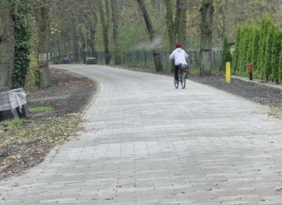 Przebudowa drogi gminnej w miejscowości Osiek – etap I