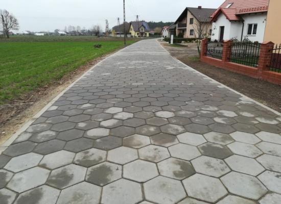 """Budowa """"ul. Ceglanej"""" w Sowach"""