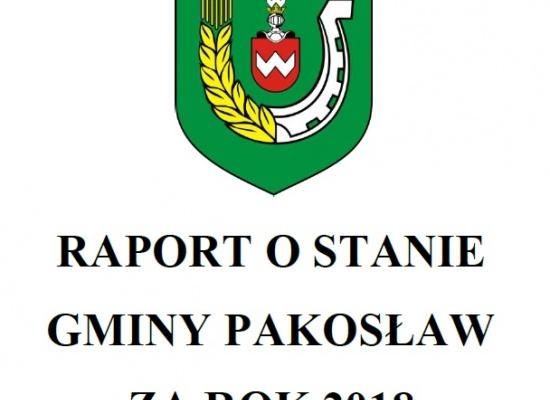 Debata nad raportem o stanie gminy Pakosław za 2018 rok