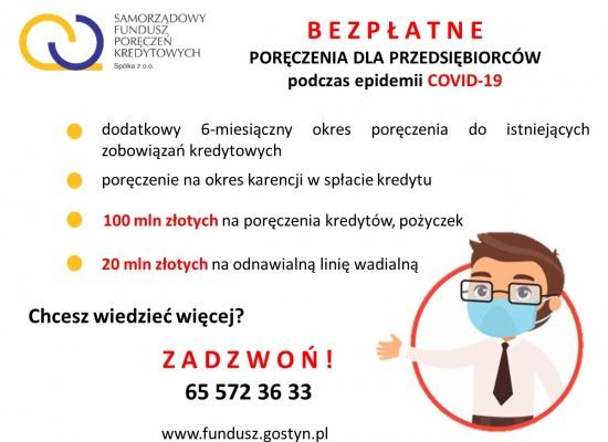 Rozwiązania wspomagające przedsiębiorców w ramach COVID-19