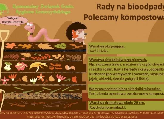 Jak kompostować bioodpady